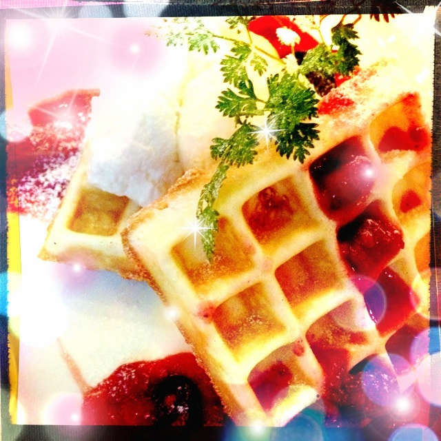 Photograph waffle by daz egg on 500px