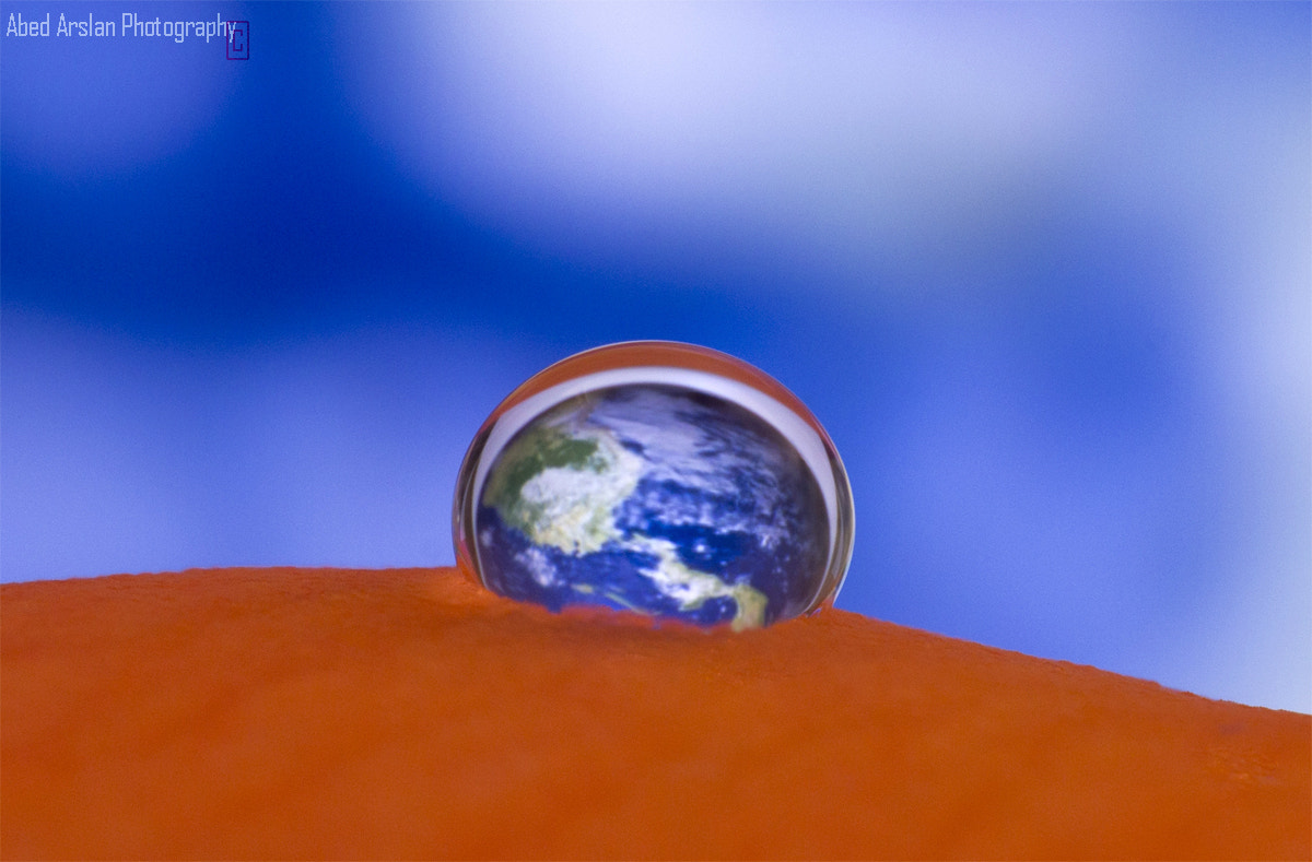 Photograph EARTH in a Drop by Abedalrahman  Arslan on 500px