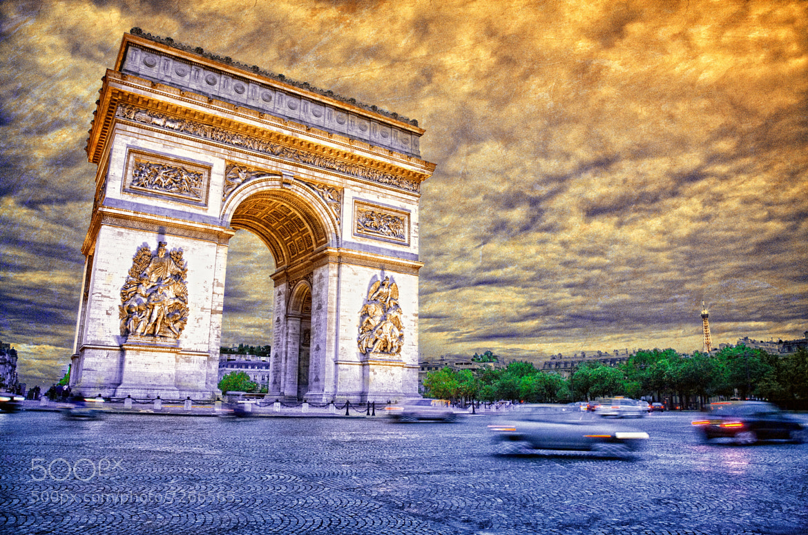 Photograph Arc de Triomphe by JESUS SILVA ANDRADE on 500px