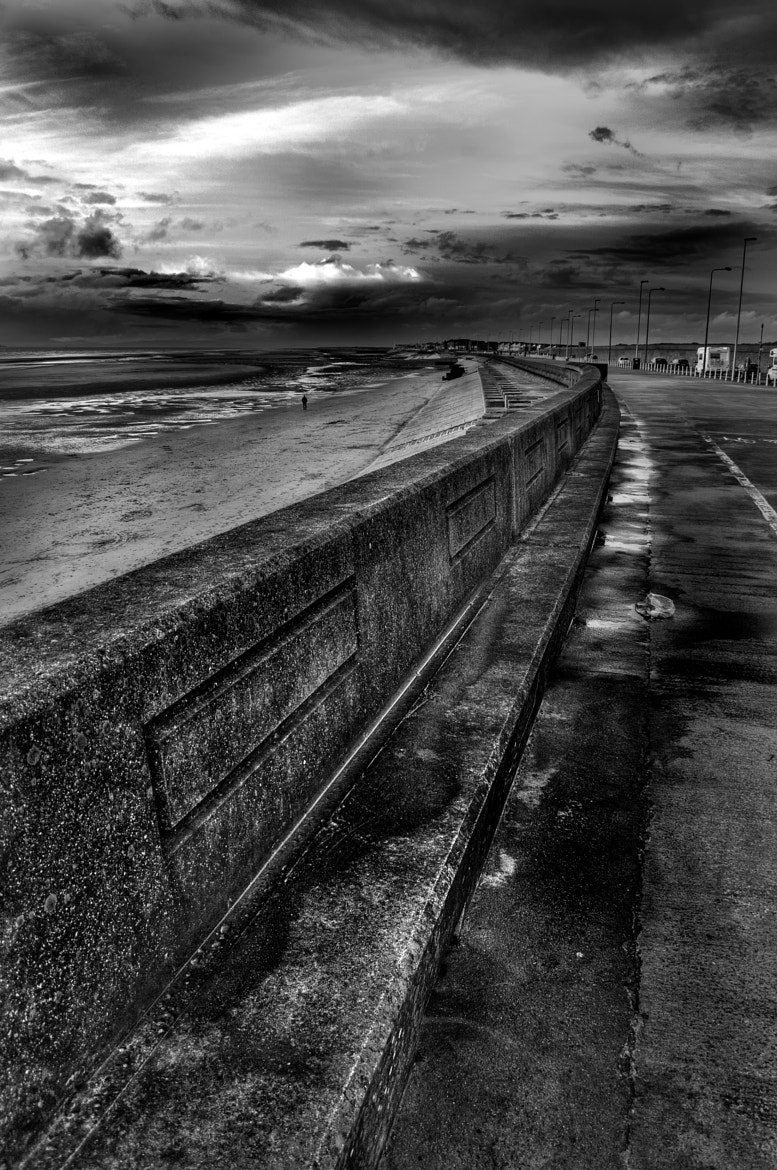 Photograph Coast HDR Mono by Steve FGA on 500px