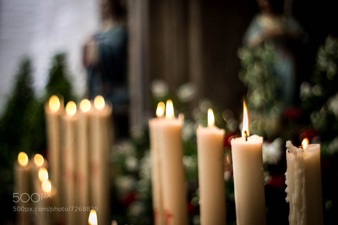 Photograph Candles by Borja Sáez on 500px