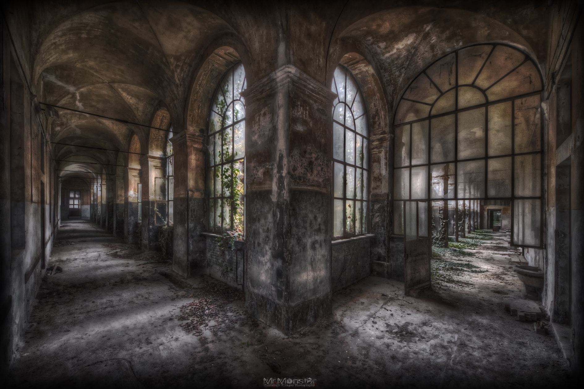 Photograph psychiatric hospital c. by Christoph Klinger on 500px