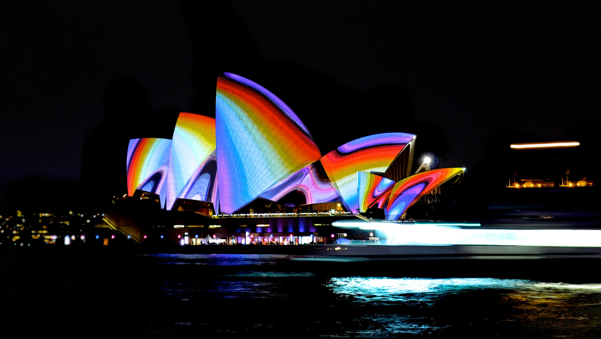 Photograph Sydney Opera House - Lightshow by Thom Bartley on 500px