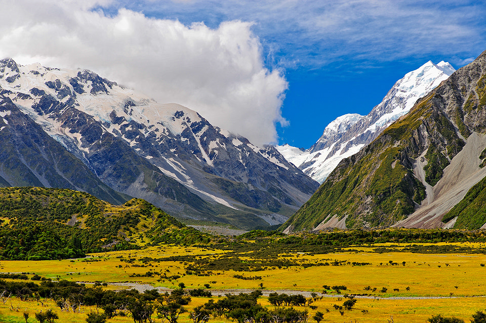 Photograph Mount Cook NZ by Lop Pa on 500px