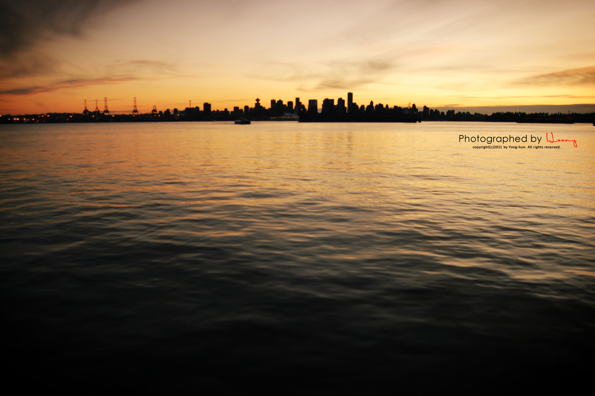 Photograph sunset in Vancouver(2) by Yonghun Lee on 500px