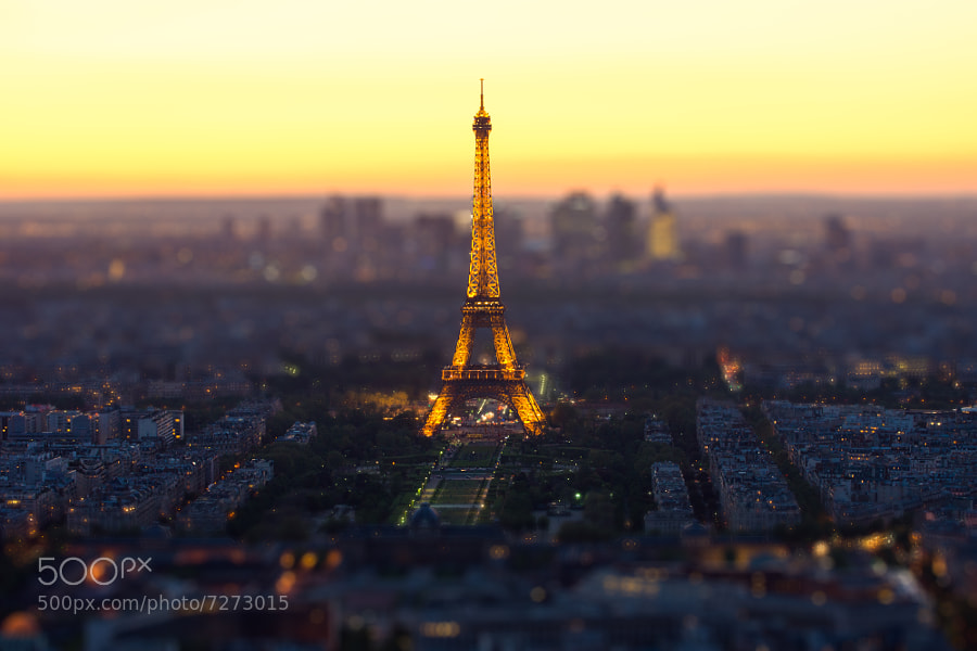 Toy Eiffel Tower by Mohamed Khalil El Mahrsi (MohamedMahrsi) on 500px.com