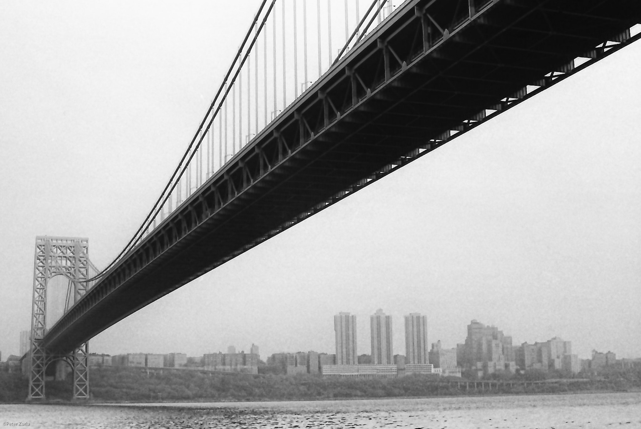 Photograph GW Bridge by Peter Zurla on 500px