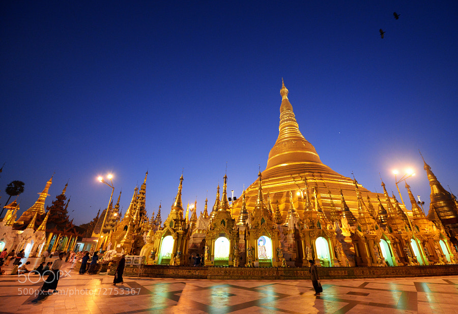Photograph Shwedagon Pagoda, Yangon by Brian  See on 500px