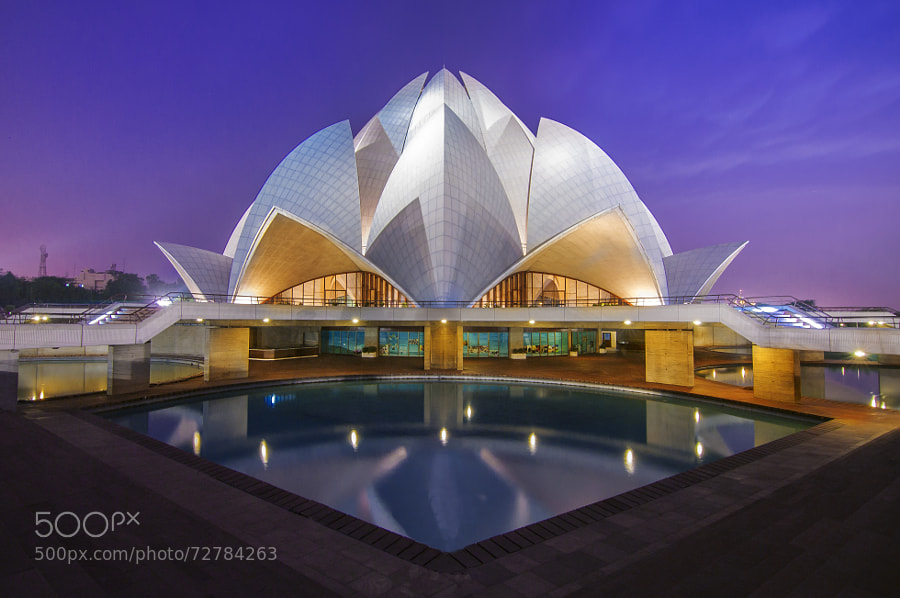 Photograph lotus temple 2 by AMITABH KUMAR on 500px