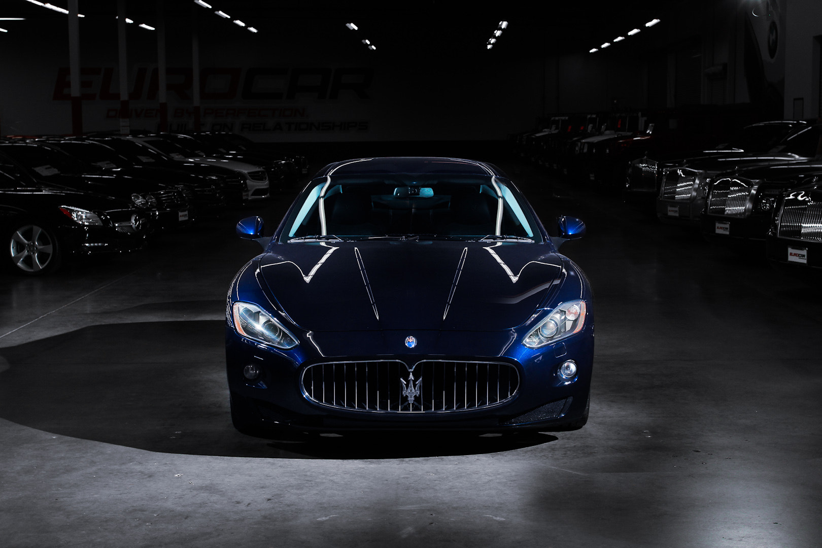 Photograph Blue Maserati GT by Philip Tieu on 500px