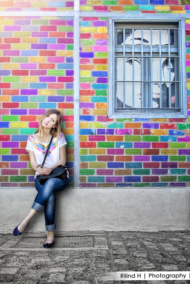 Photograph Colorful portrait by Rilind H on 500px