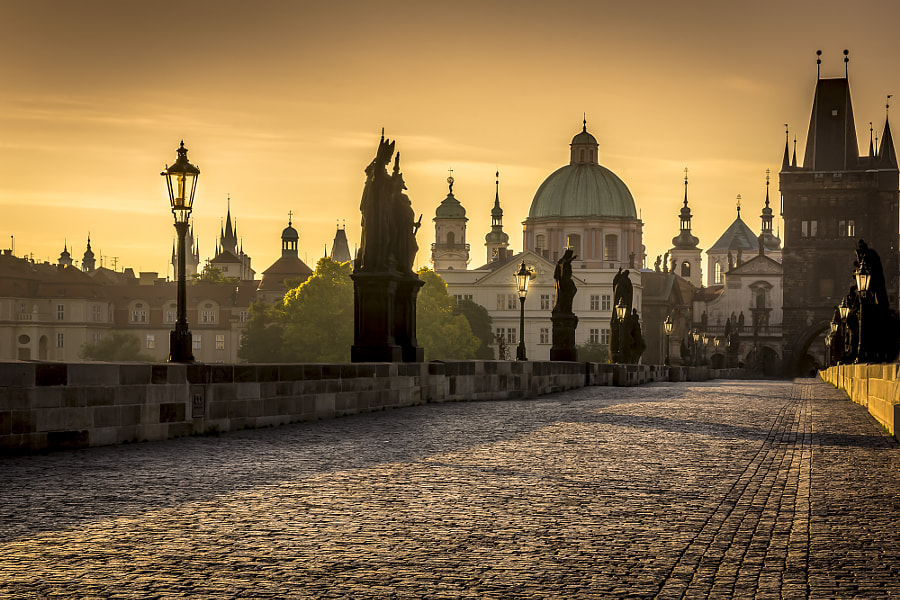 Photograph charles bridge by Thomas Pipek on 500px