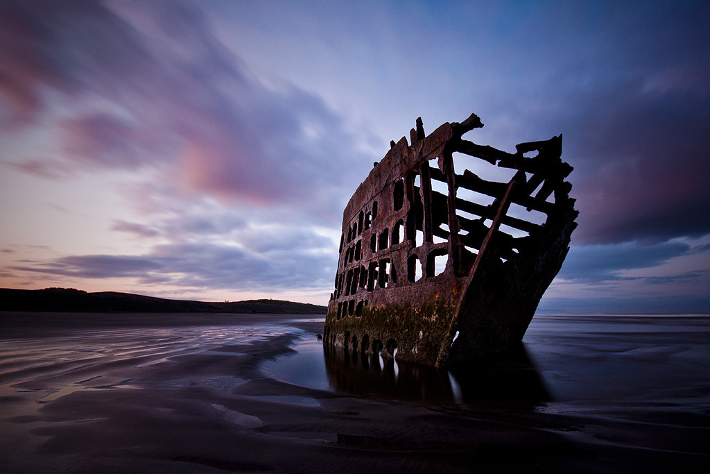 Photograph Shipwrecked by Andrew Curtis on 500px
