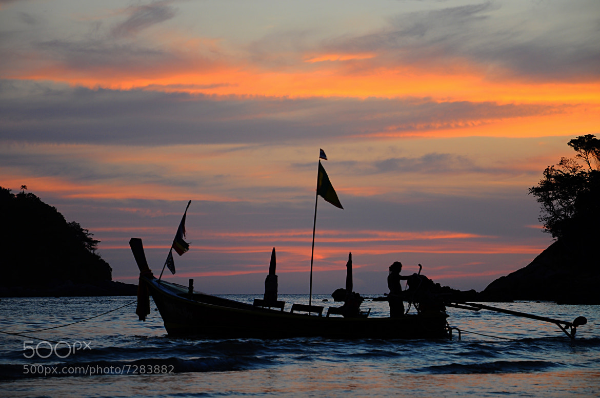 Photograph Sunset, Thailand by Yulia R on 500px