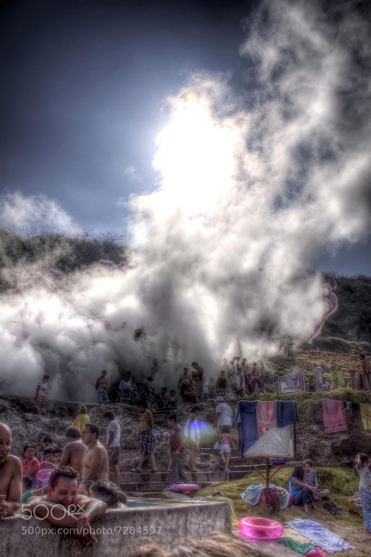 Photograph geyser by Deivid Valencia on 500px