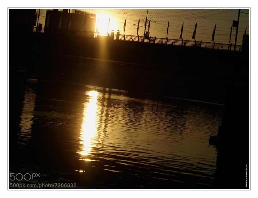 Bridge at sunset by Victor K. Zhuravlev (ViZhuK) on 500px.com