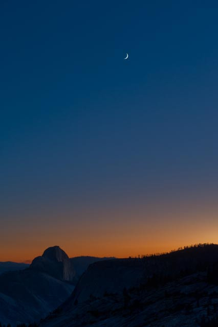Photograph Sunset Over Half Dome by Richard Arnold on 500px