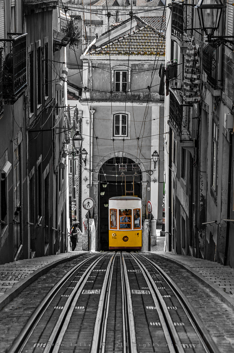 "Photograph The ""Bica"" Funicular - Lisbon, Portugal by Ricardo Bahuto Felix on 500px"
