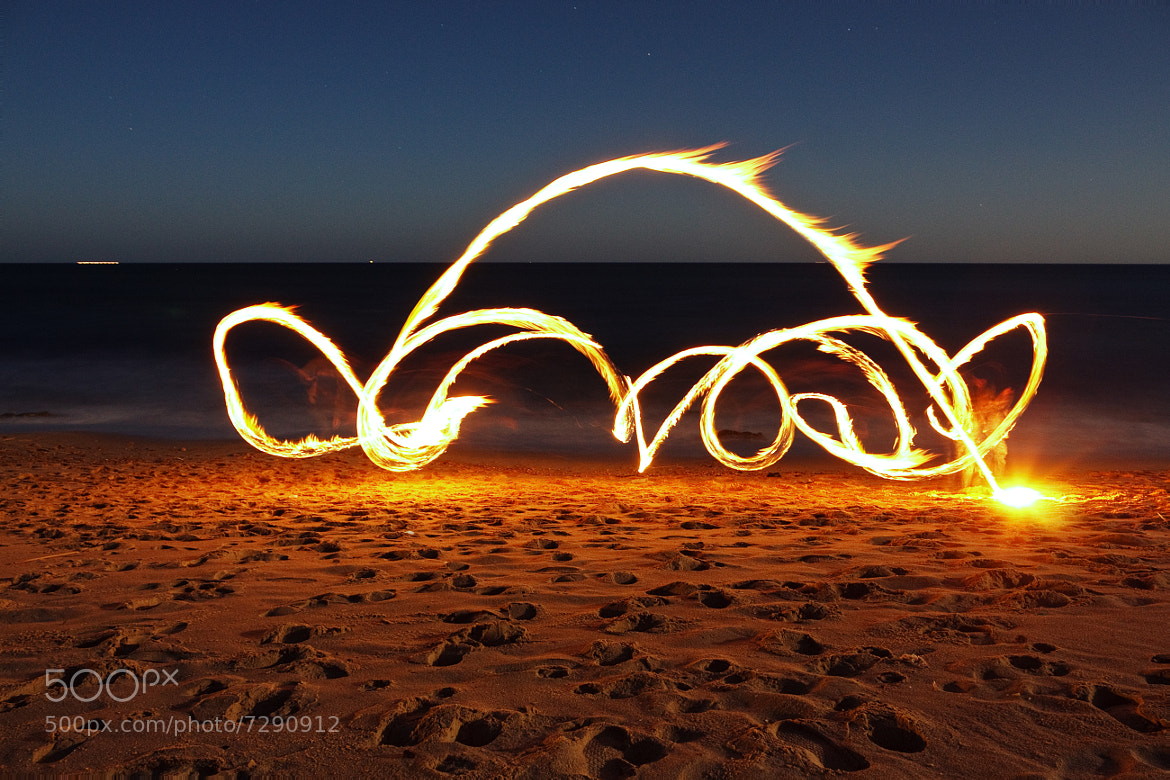 Photograph Night Fire by Med A7 on 500px