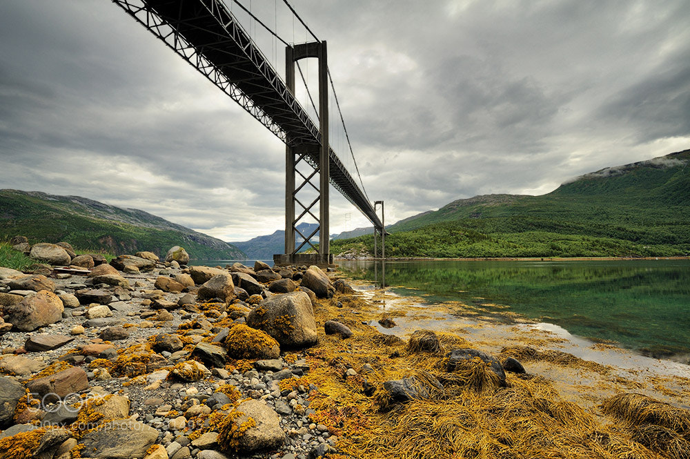 Photograph  Under the bridge by Jan  Siemiński on 500px