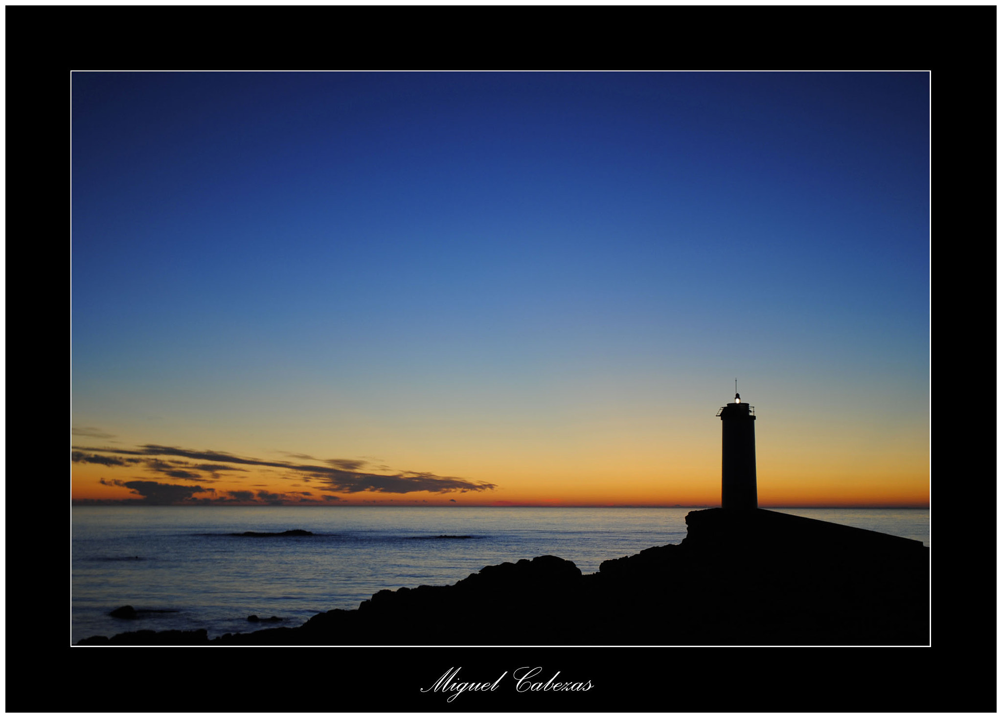 Photograph Faro Roncudo by Miguel  Cabezas on 500px
