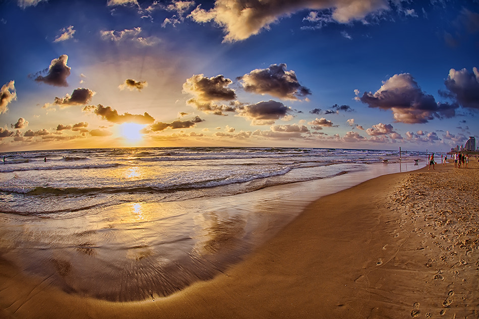 Photograph Sunset in Tel Aviv by Asaf Amran on 500px