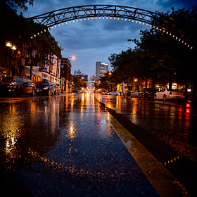 High St in the Rain 1 by Ed Gately (edgately)) on 500px.com
