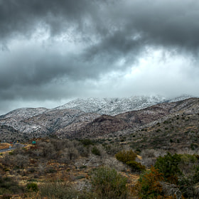 Desert Snow by Scott Wood (ScottWood)) on 500px.com
