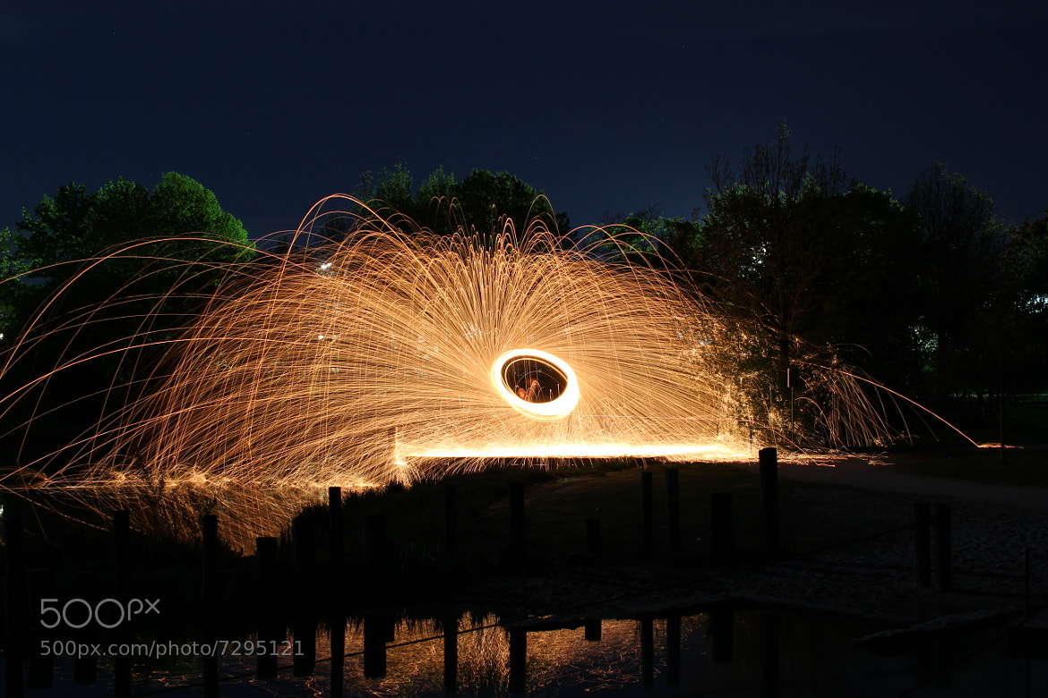 Photograph on fire by Christopher  Hassler on 500px