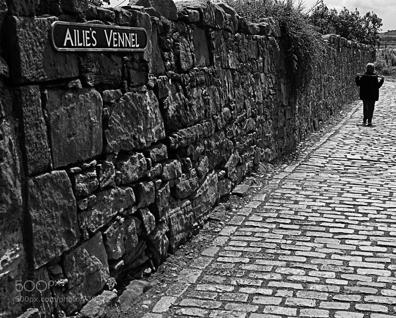 Photograph Ailie's Vennel, Culross, Fife by Dave Wilson on 500px