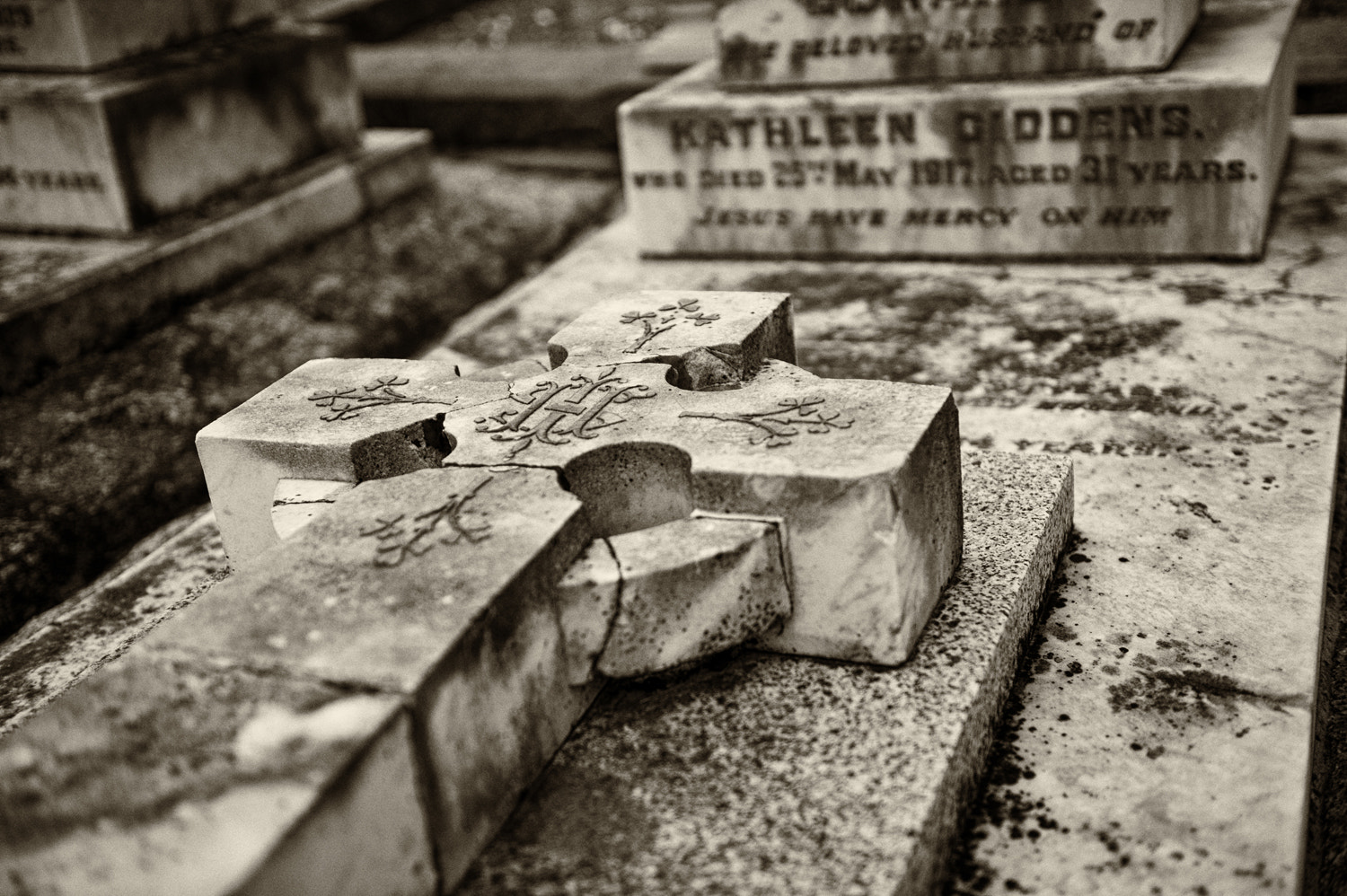 Photograph Cemetery - Coburg , Melbourne by Mark  on 500px