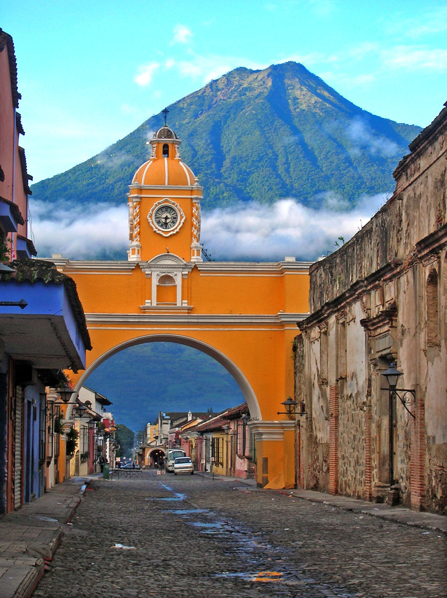 Photograph Santa Catalina Arch, Antigua, Guatemala by Dave Wilson on 500px