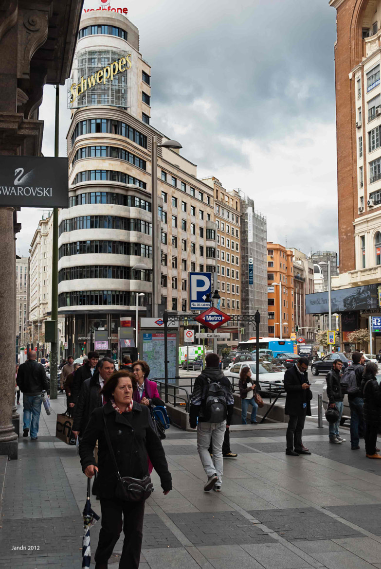 Photograph Gran Vía de Madrid (I) by Alejandro  Alonso on 500px