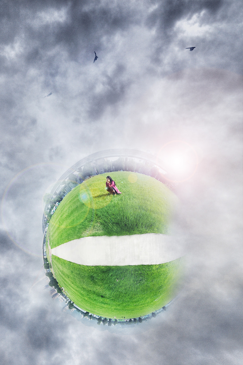 Photograph  boring girl in her little planet by TaoTzu Chang on 500px