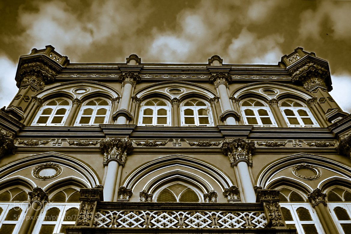 Photograph Vintage Villa by Nauzer Kasad on 500px