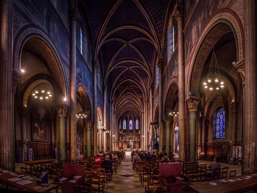Church Saint Germain des Près Paris