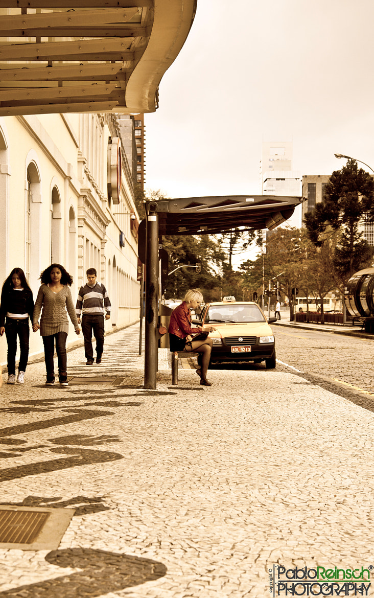 Photograph Bus stop.- by Pablo Reinsch on 500px