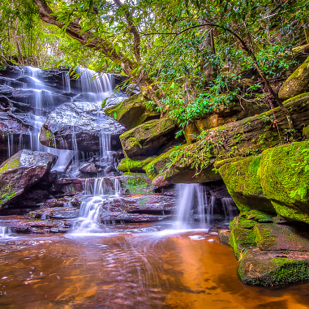 Lower Somersby Falls - Somersby, New South Wales.