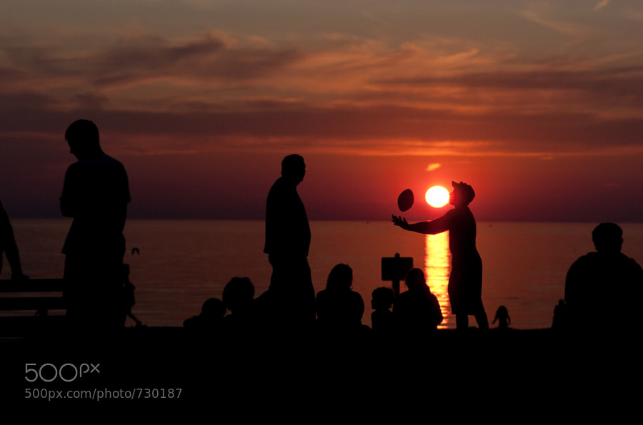 Photograph Football with the Sun by John Sturr on 500px