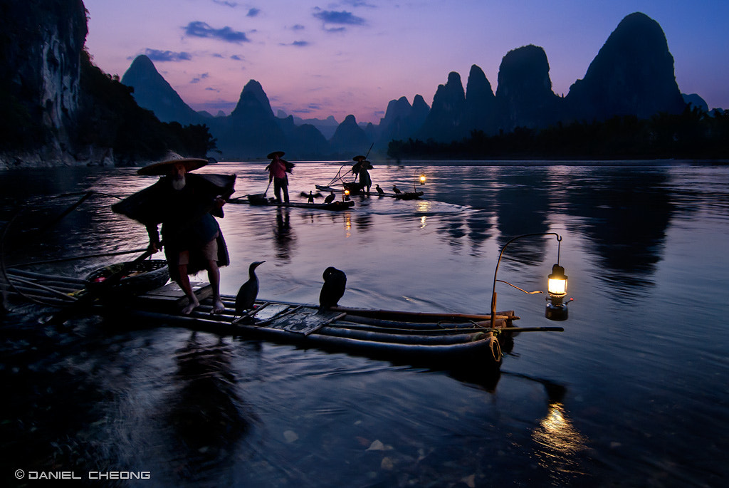 Photograph Fishermen & Cormorants by Daniel Cheong on 500px