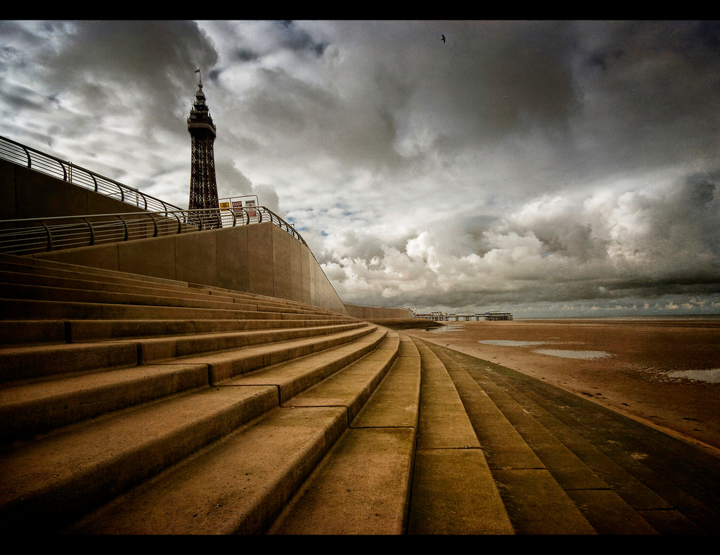 Photograph The heady heights of Blackpool. by Steve Clee on 500px