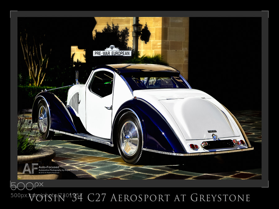 Photograph BOS, 2011 Greystone Concours. by Royce Rumsey on 500px