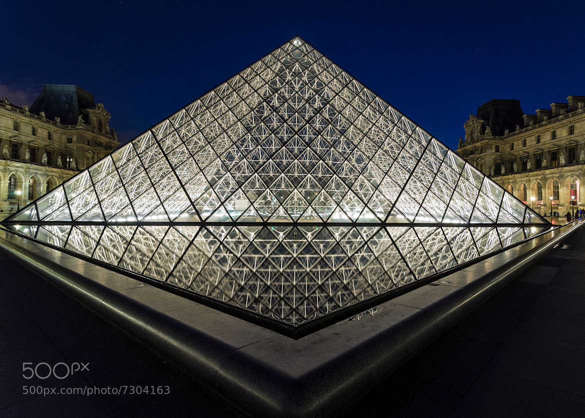 Photograph Pyramid Reflection by Carsten Saager on 500px