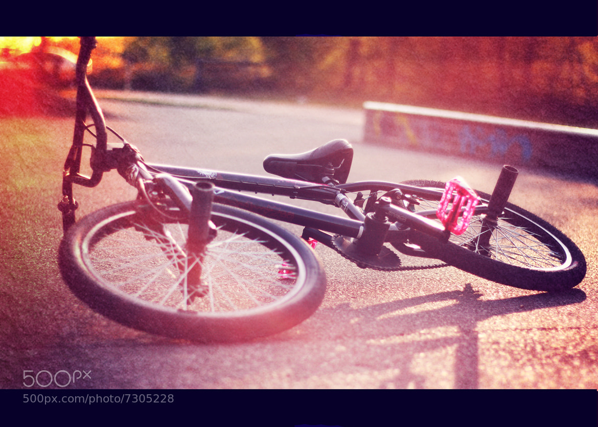 Photograph BMX Bike by Lennard  Dorka on 500px