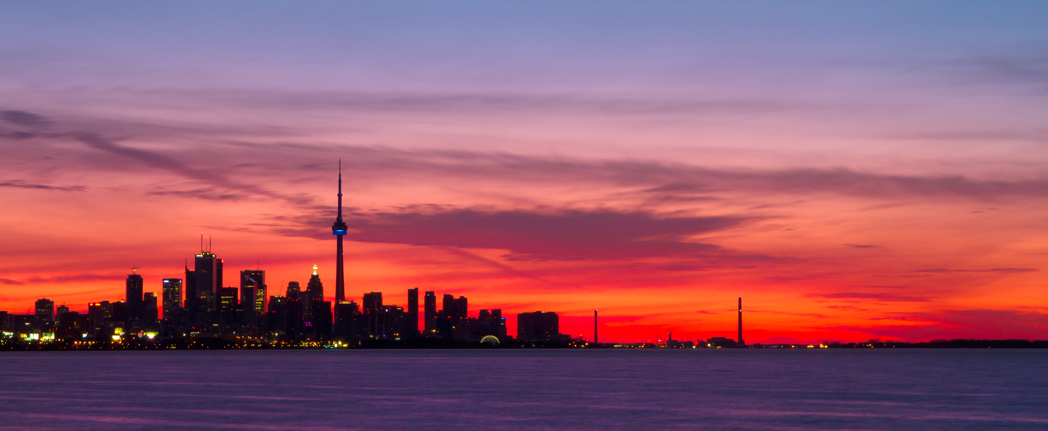 Photograph Just another Toronto Sunrise by Greg David on 500px