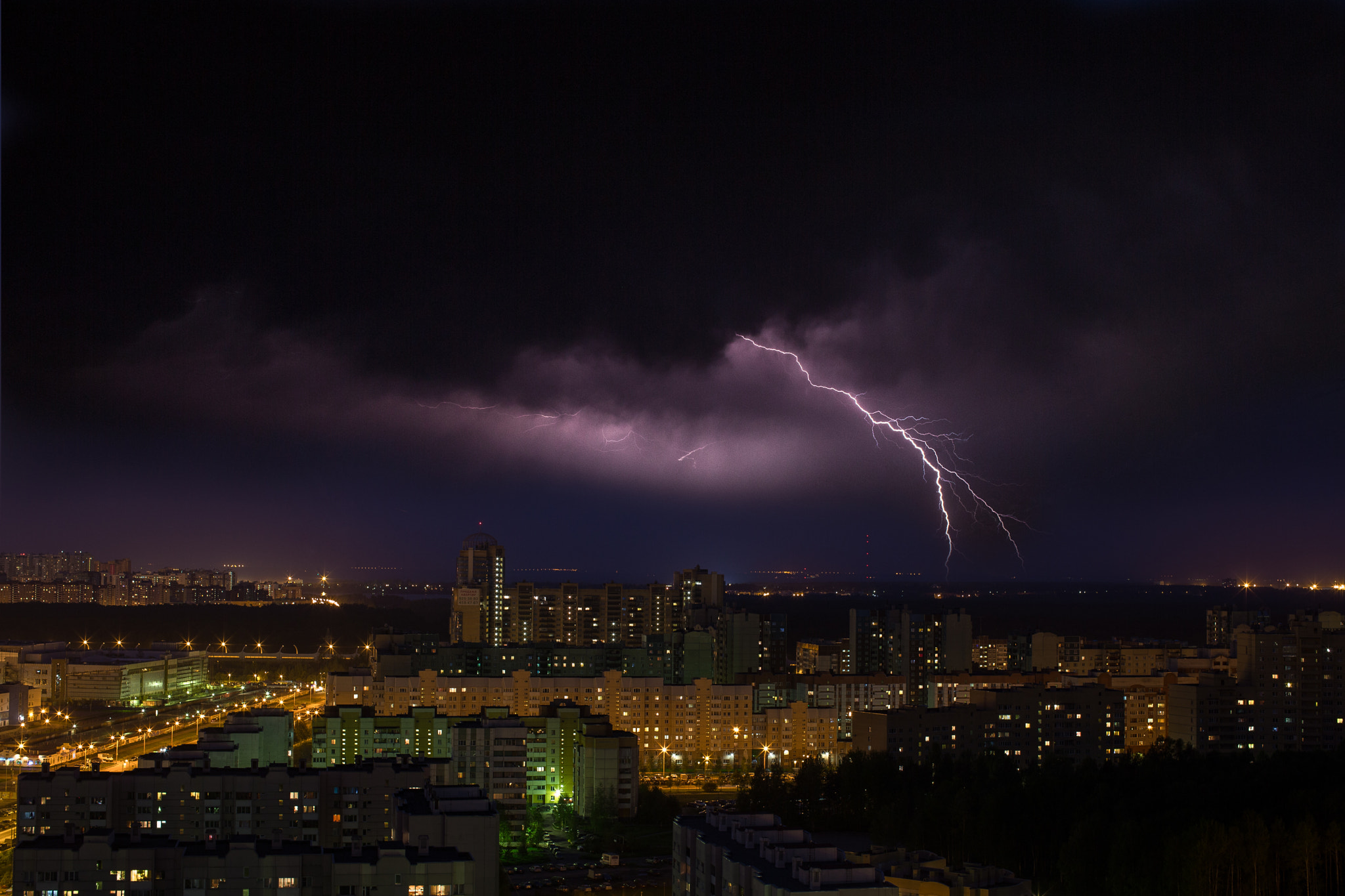 Photograph Thunderhead over Saint-Petersburg by Paladyan Konstantin on 500px