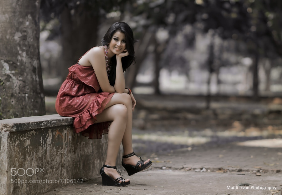 Photograph Vanny by Maidi Irvan on 500px