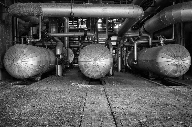 Photograph Abandoned powerplant by Wim De Block on 500px