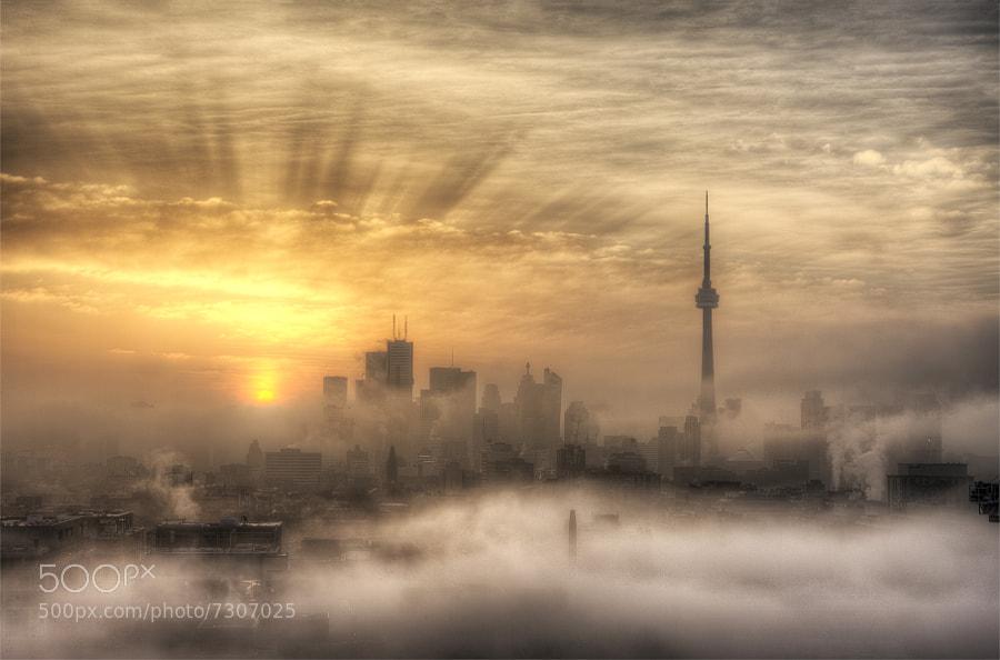 Foggy Sunrise by Richard Gottardo (RichardGottardo) on 500px.com