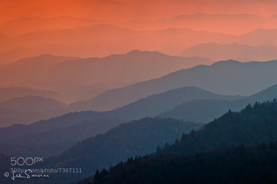 Photograph Blue Ridge by Les Saucier on 500px
